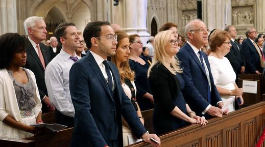 attendees of mass