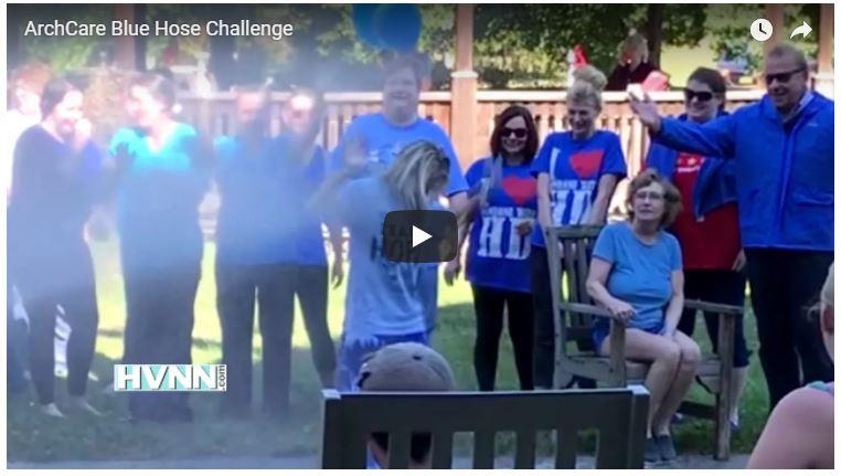 ArchCare blue hose challenge