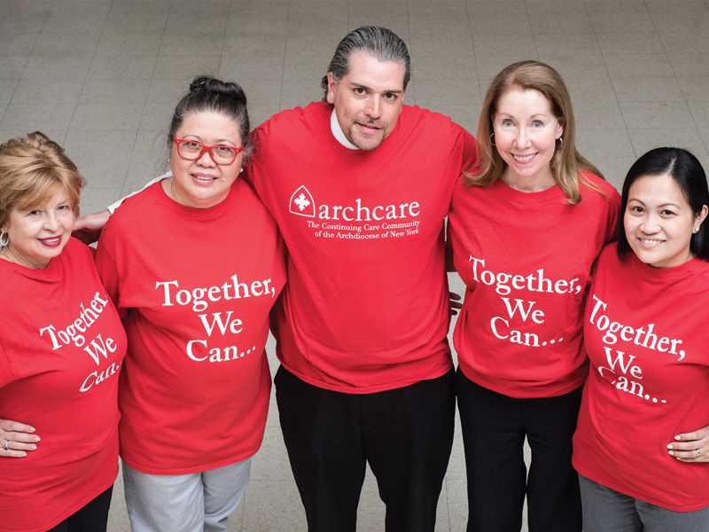 ArchCare at Terence Cardinal Cooke Health Care Center team of individuals