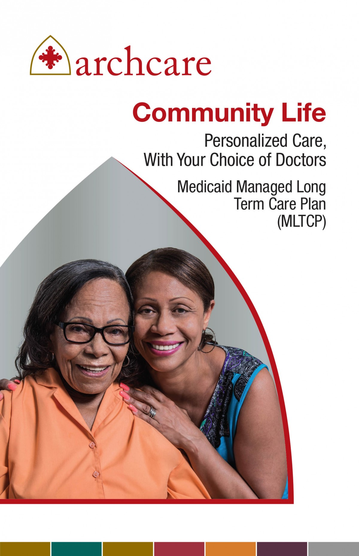 ArchCare Community Life Personalized Care Brochure