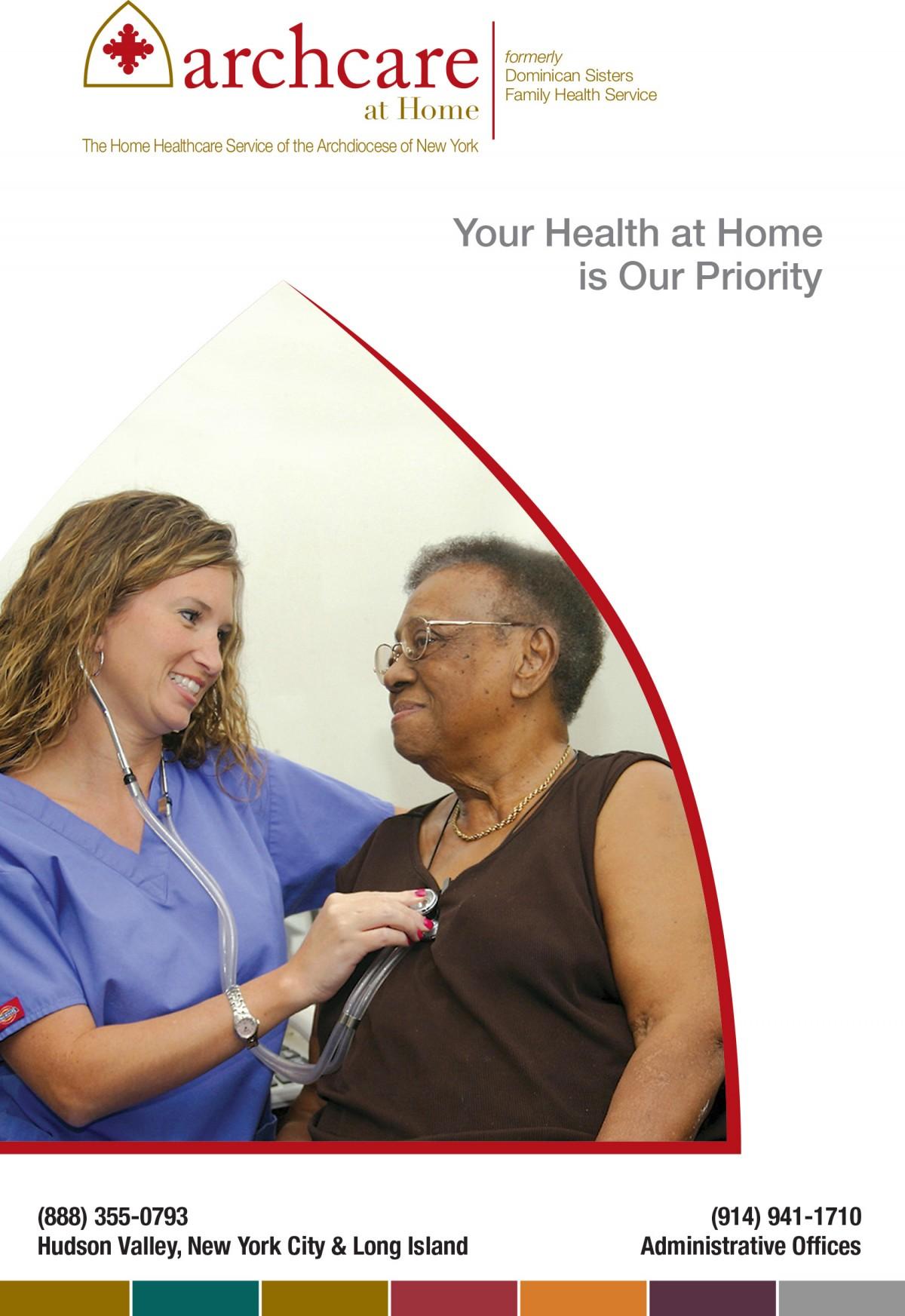 ArchCare Homecare brochure