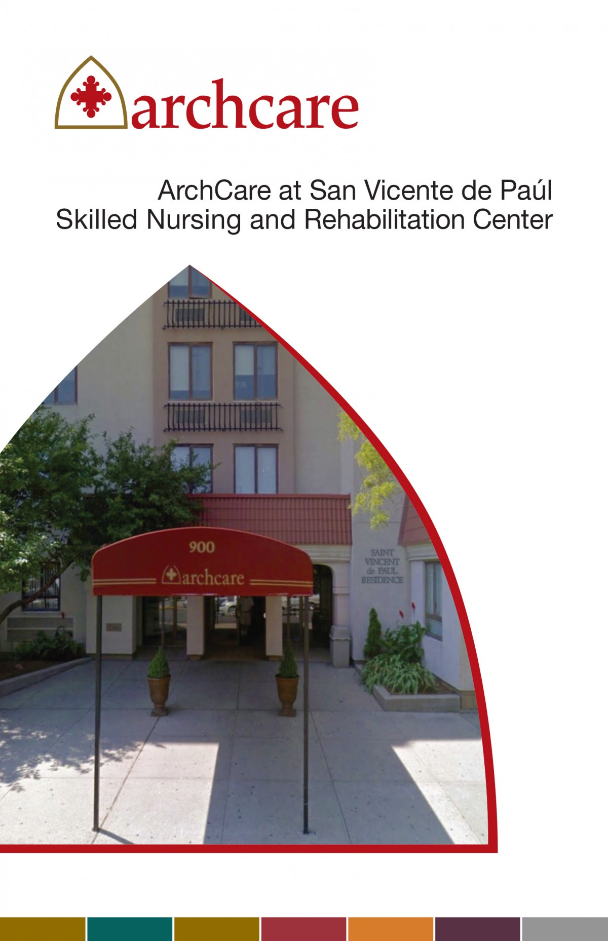ArchCare at San Vicente de Paúl Skilled Nursing and Rehabilitation Center brochure