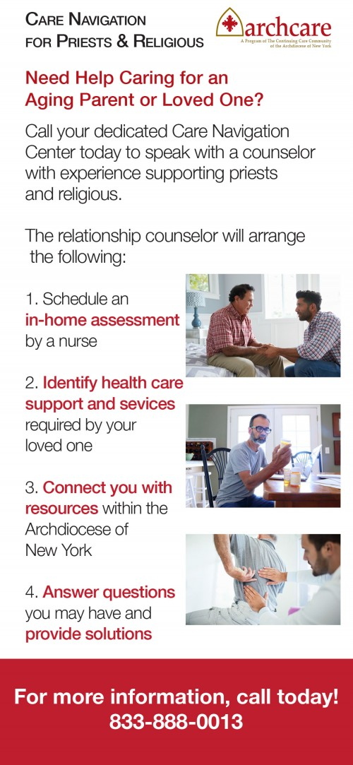 ArchCare steps to get help