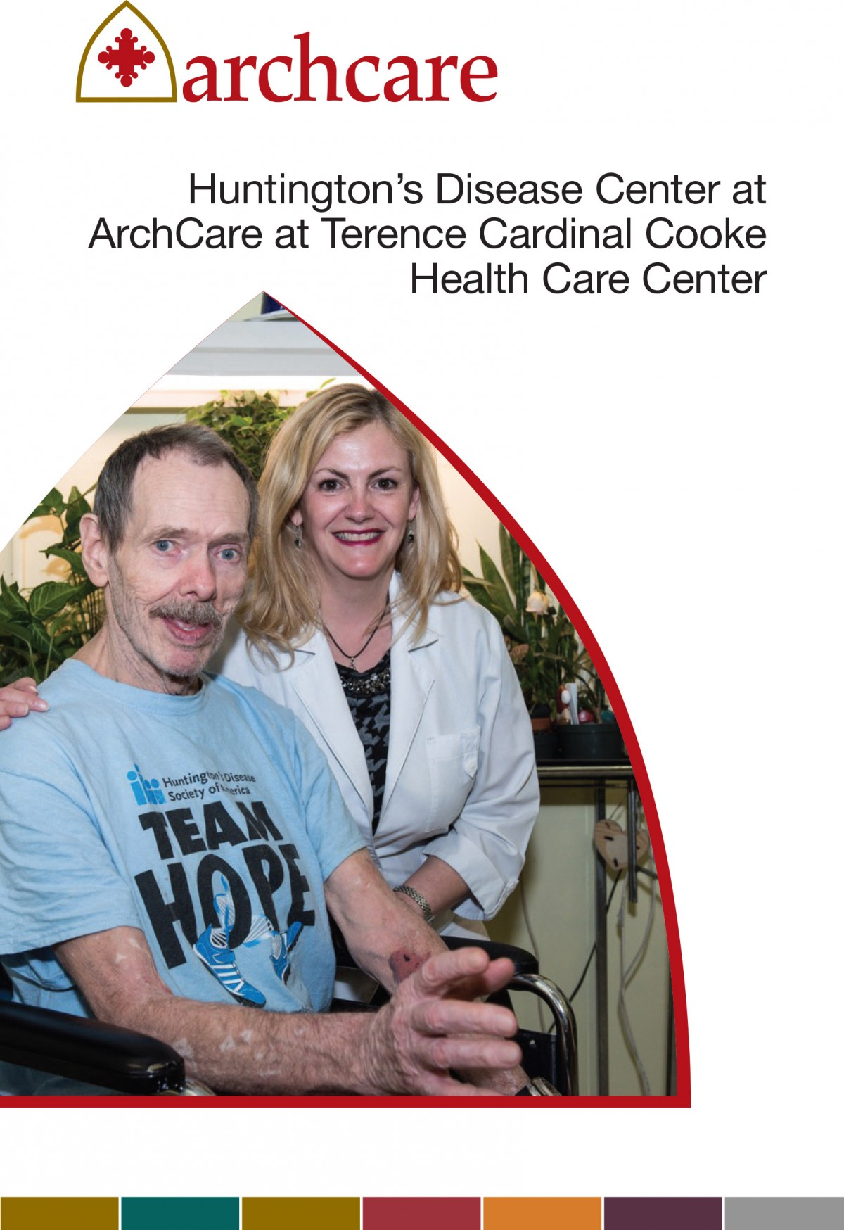 ArchCare at Terence Cardinal Cooke Health Care Center Huntington's disease care brochure