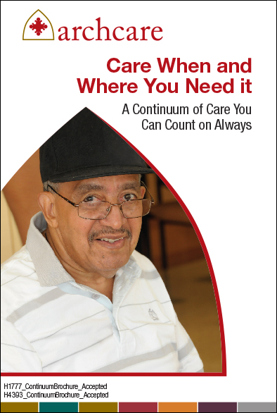 ArchCare community and caregiver resources PDF.