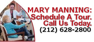 Mary Manning, Schedule a tour, call us today 212-628-2800