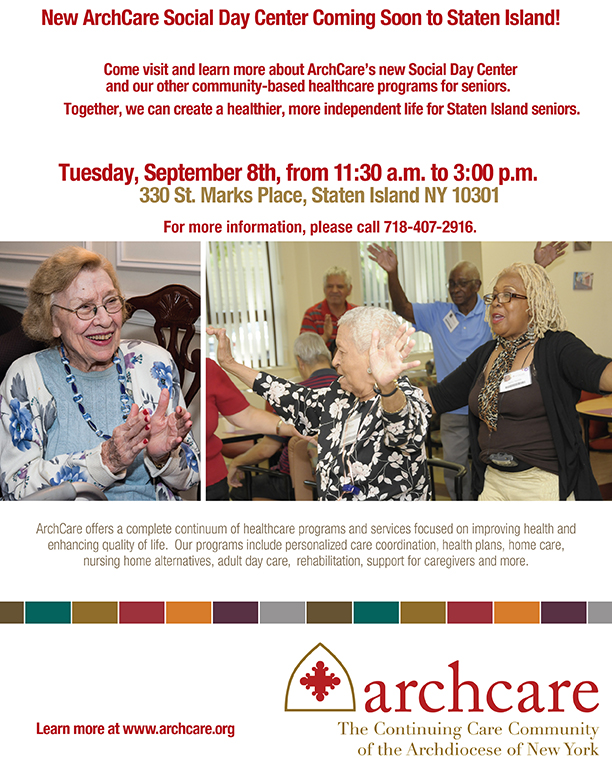 New Archcare Social Day Center Coming Soon To Staten