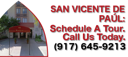 San Vicente De Paul, schedule a tour, call us today 917-645-9213